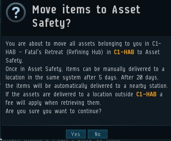 Asset safety (I). El funcionamiento